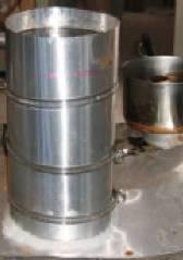 Creating the wax cylinder for Adagio.