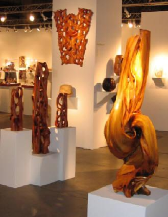 Works exhibited by Harry Pollitt at SOFA WEST Santa Fe 2009
