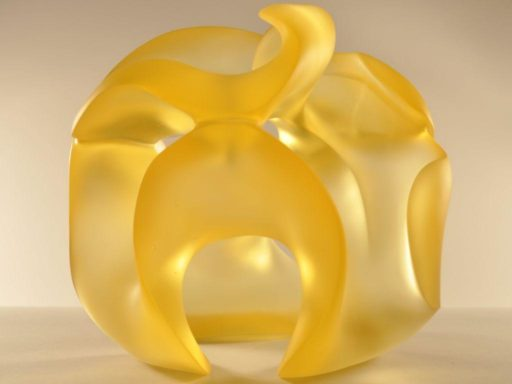 Limoncelli, glass sculpture by Harry Pollitt