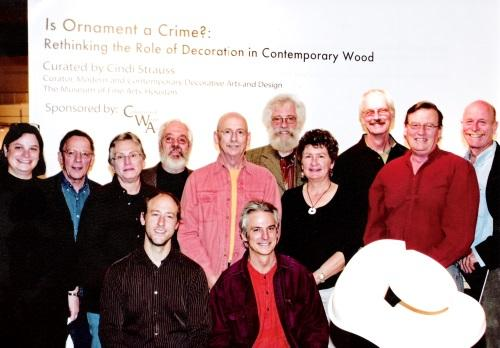 Left to Right: Cindi Strauss, Curator, Steve Sinner, Robyn Horn, Hunt Clark, Norm Sartorius, John Jordan, David Groth, David Ellisworth, Betty Scarpino, Stoney Lamar, myself, Christian Burchard. Not Present: Lian Flynn, Tex Isham, Ron Kent, Holly Tornheim, Joel Urruty.