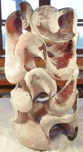 Harry Pollitt - creating Fluid Dynamics glass sculpture 7