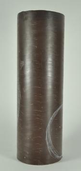 Harry Pollitt - creating Pinnacle glass sculpture wax cylinder. Some design lines.