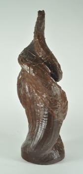 Harry Pollitt - creating Pinnacle glass sculpture wax. Very rough sculpture.