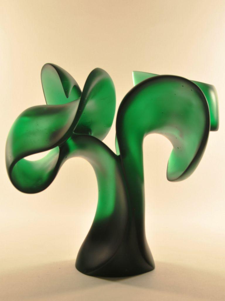 Harry Pollitt - Bashert glass sculpture