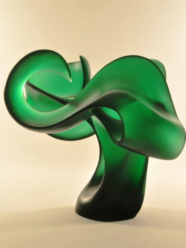 Harry Pollitt - Bashert glass sculpture