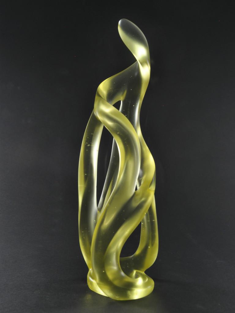 Harry Pollitt - Zest glass sculpture